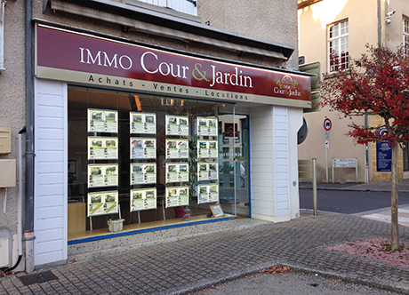 IMMO Cour & jardin, Agence
